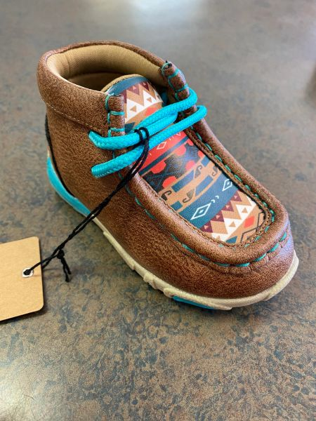 Twister Toddler Tan/Blue Shoe's