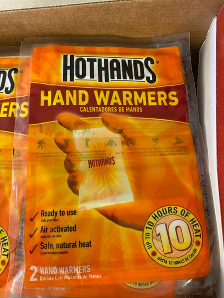 Hot Hands Hand Warmer's