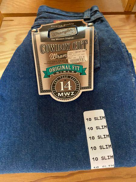 Girl's Wrangler Original Fit Jean's