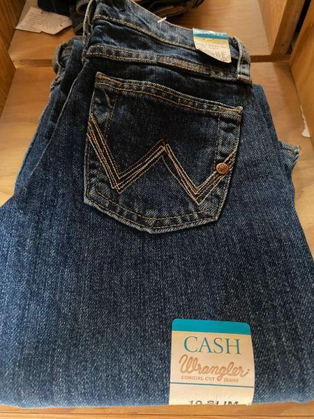 Girl's Wrangler Cash Jean's