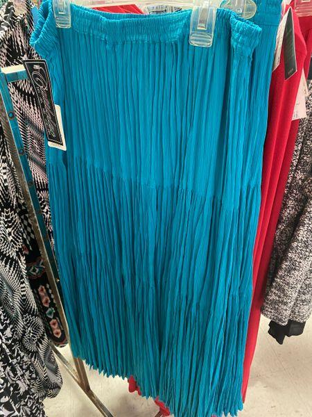 Women's Long Blue Skirt