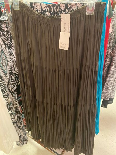 Women's Long Brown Skirt