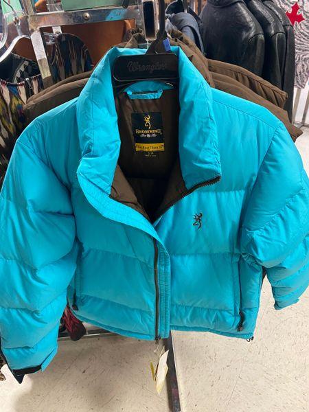 Women's Aqua Browning Jacket