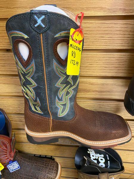 Men's Steel Toe Twisted X Work Boot's