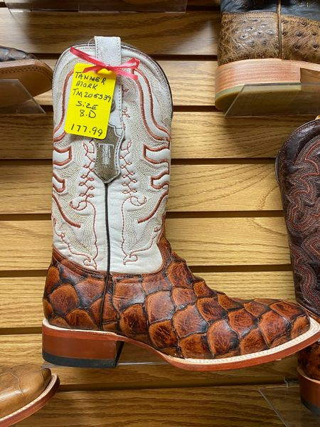 Tanner Mark Monster Fish Boot With White Top