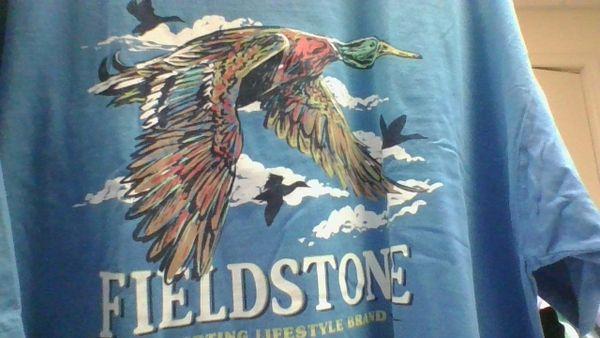 Migration short sleeve t-shirt royal blue