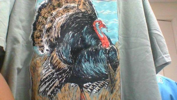 Turkey short sleeve Fieldstone t-shirt in olive
