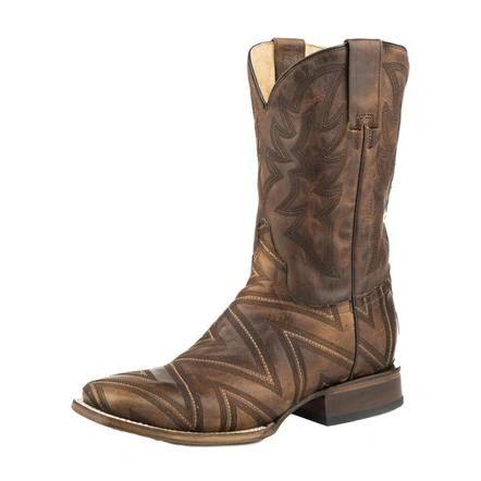 Men's Square Toe Roper Boot's