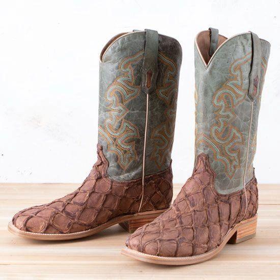 Men's Corral Fish Scale Boot's