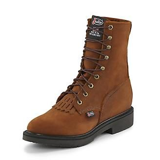 Men's Justin Conductor Work Boot's
