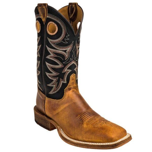 Mens Justin Bent Rail Caddo Brown Boot