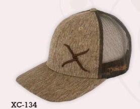 Twisted X Mocha cap