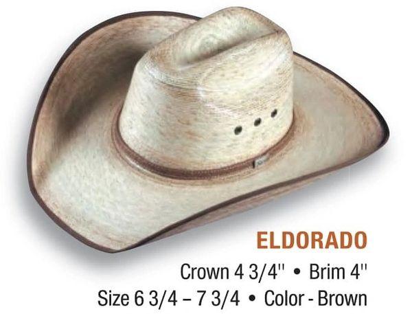 Atwood's Eldorado Straw Hat