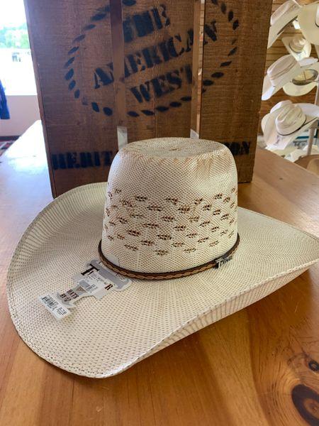 Twisted X Bangora straw cowboy hat