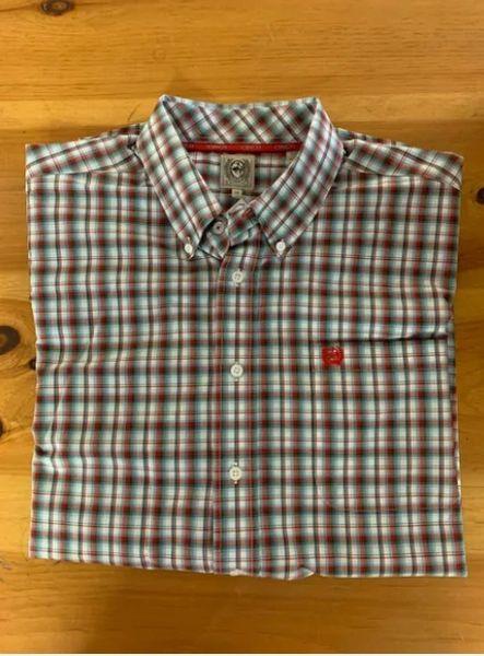 Men's Big And Tall S/S Cinch Shirt