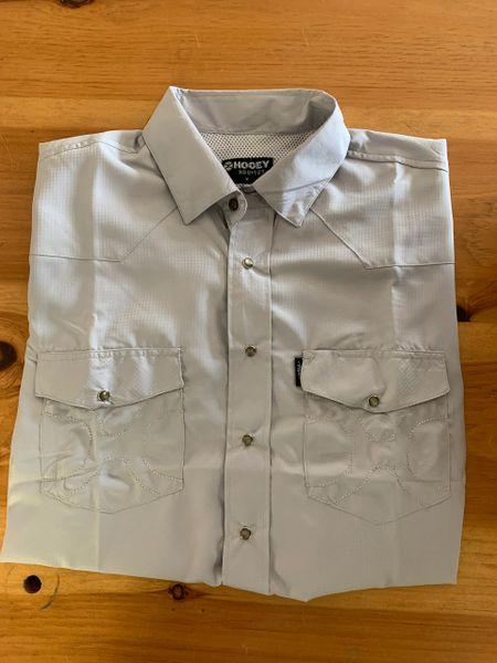 Men's Grey Hooey S/S Fishing Shirt