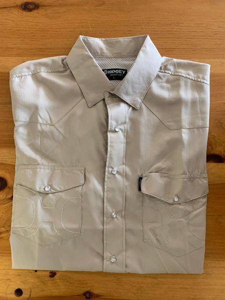 Men's Tan Hooey S/S Fishing Shirt