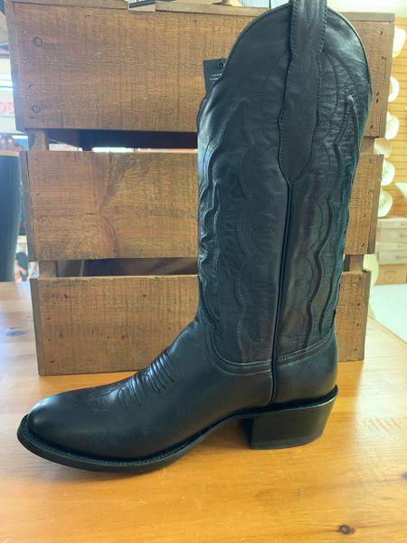 Cinch Men's Round Toe Western Dress Boot Black