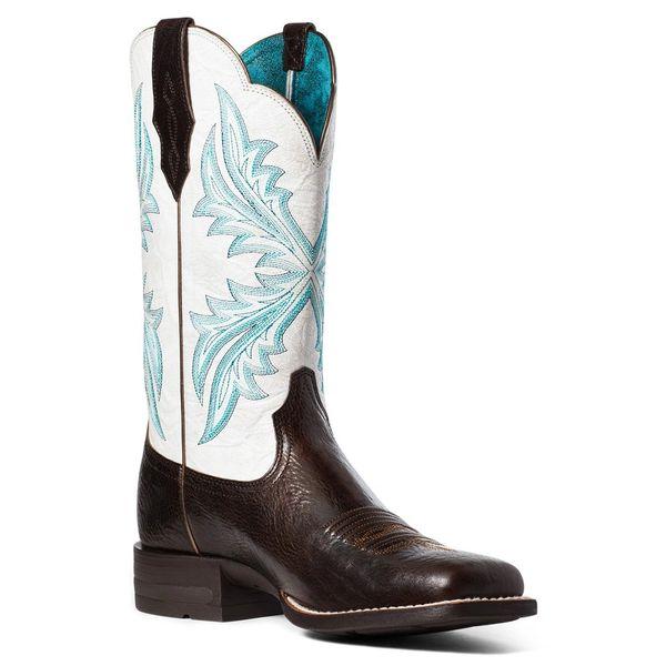Women's White Top Ariat Boot's