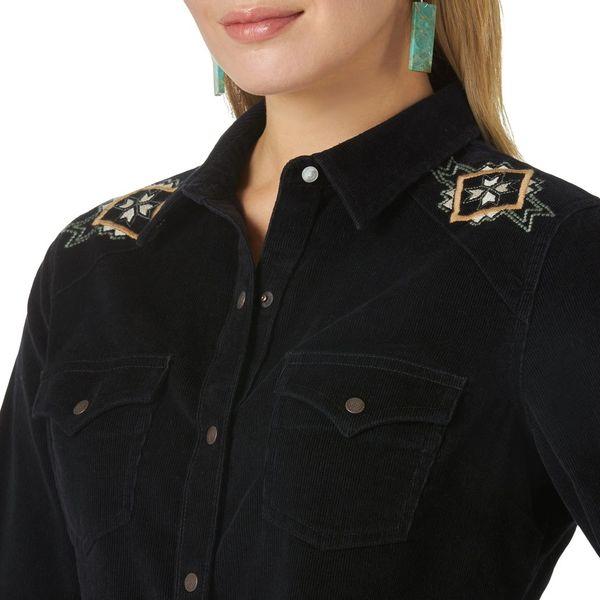 Ladies Corduroy Shirt