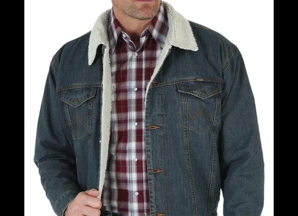 Men's Sherpa-Lined jacket