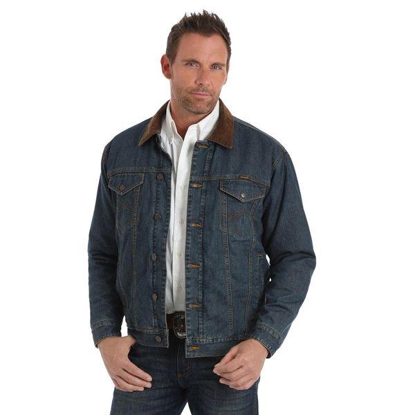 Men's Conceal Carry Denim Jacket