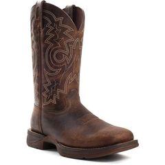 """Durango Men's 11"""" Pull-On Brown Steel Toe Boot"""