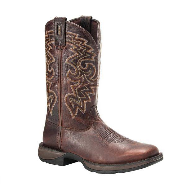 """Durango Men's 11"""" Pull-On Dark Chocolate Boot"""
