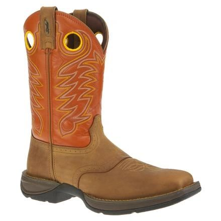 "Durango Men's 11"" Pull-On Dust/Pumpkin Boot"