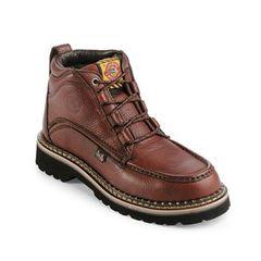 Justin Men's Mocc Toe Work Boot