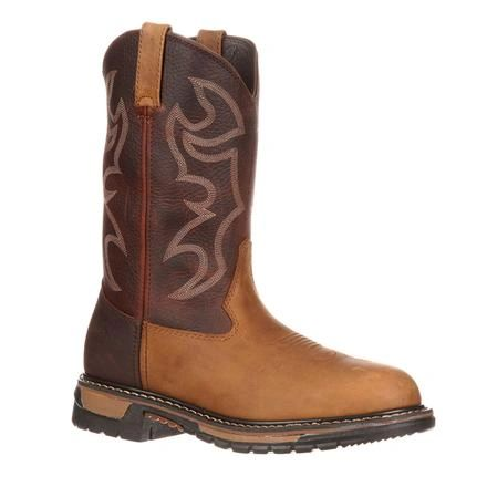 Rocky Men's Branson RD Toe Tan/Brown