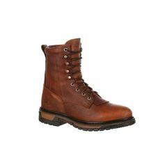 """Rocky Men's 8"""" Original Ride Steel Toe Boot"""