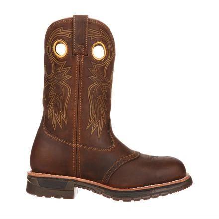 Rocky Men's Original Ride Steel Toe Boot