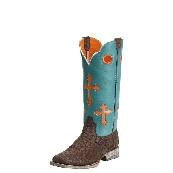 "Ariat Youth 11"" Ranchero Turquoise"