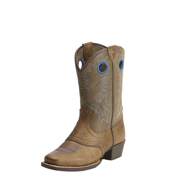 "Ariat Youth 8"" Roughstock Aged Earth"