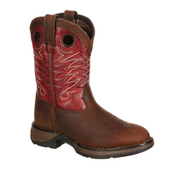 "Durango Youth 8"" Rain Drop Brown Brick"