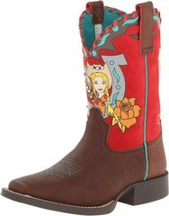 Ariat Youth Mustang Molly Brown Western Boot