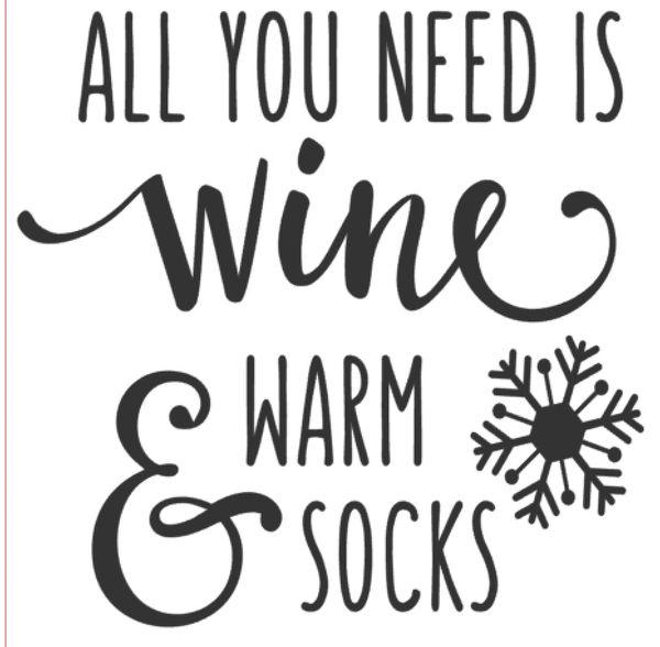 Wine & Socks