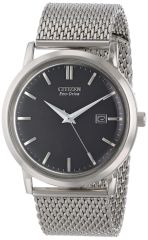 Citizen Eco-Drive Mesh Collection Analog Watch Model BM7190-56H