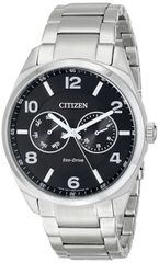 Citizen Eco-Drive Mens Stainless Steel Dress Watch Model AO9020-84E