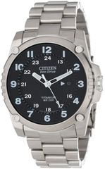 Citizen Eco-Drive Mens Stainless Steel Shock Proof Titanium Watch Model BJ8070-51E