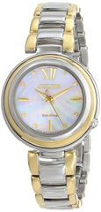 Citizen Eco-Drive Ladies Two-Tone L Sunrise Analog Watch Model EM0337-56D