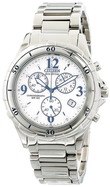 Citizen Eco-Drive Ladies Chronograph Analog Watch Model FB1350-58A