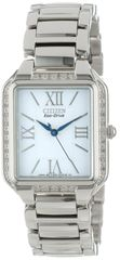 Citizen Eco-Drive Ladies Ciena Dress Diamond Watch Model EM0190-52A