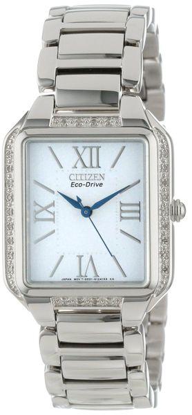 Citizen Eco-Drive Ladies Ciena Dress Diamond Watch Model EM0190-52A