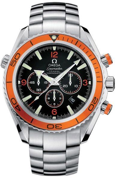 Omega Seamaster Planet Ocean Automatic Chronometer Mens Watch Model 2218.50.00