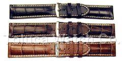 Hadley Roma Heavy Alligator Grain Panerai Style Watch Band Model MS2035