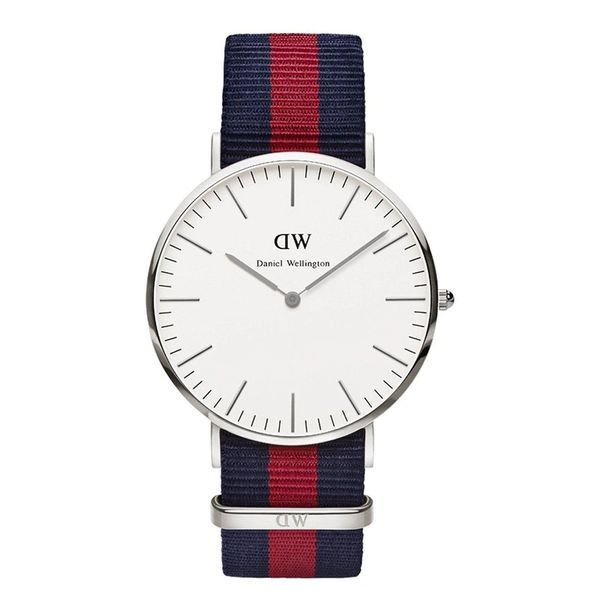 Daniel Wellington 0201DW Classic Oxford Man Silver 40mm