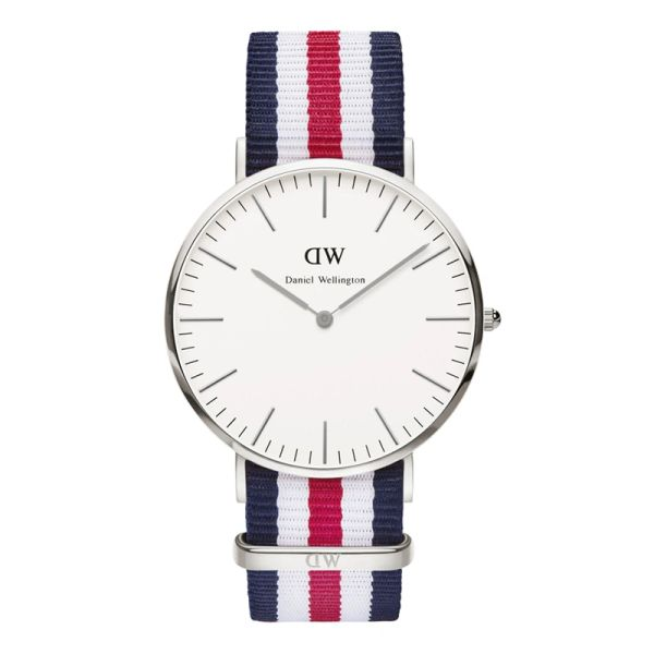 Daniel Wellington 0202DW Classic Canterbury Man Silver 40mm
