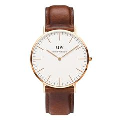 Daniel Wellington 0106DW Classic St Mawes Man Rose Gold 40mm